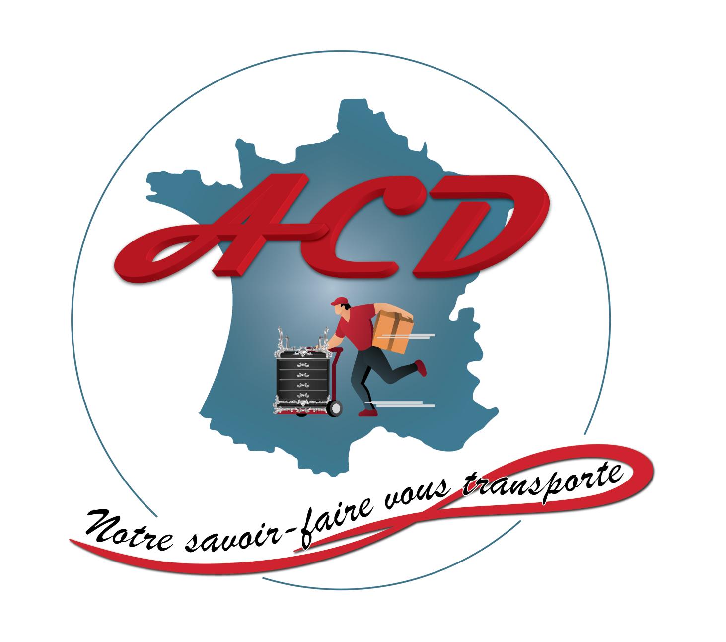 Logo de l'entreprise ACD Déménagement